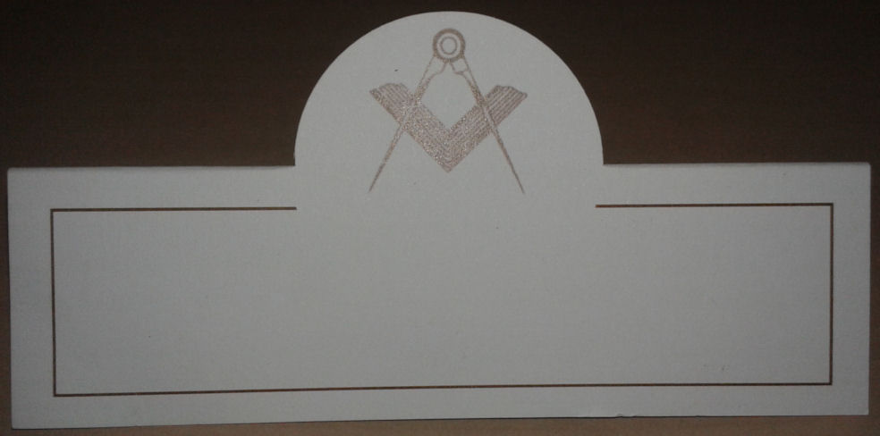 Masonic Place Cards